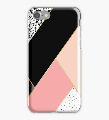 Abstract Geometric Composition iPhone Case/Skin