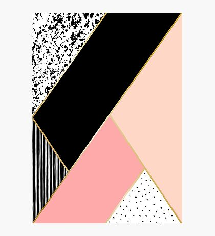 Abstract Geometric Composition Photographic Print