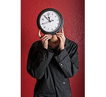 Waisted Time Photographic Print