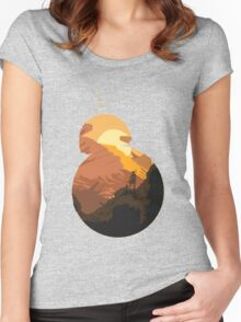 bb-8 Rey Women's Fitted Scoop T-Shirt