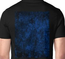Deep Blue Crackle Unisex T-Shirt