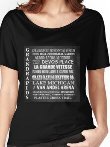 Grand Rapids Famous Landmarks Women's Relaxed Fit T-Shirt