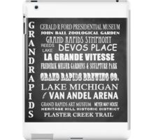 Grand Rapids Famous Landmarks iPad Case/Skin