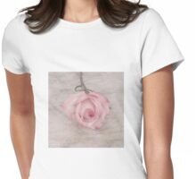 Pink Rose Beauty  Womens Fitted T-Shirt