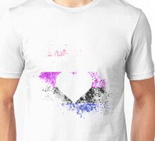 Genderfluid Pride Heart Unisex T-Shirt