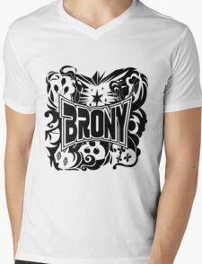 Brony Work Out Shirt Mens V-Neck T-Shirt