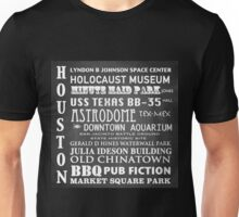 Houston Famous Landmarks Unisex T-Shirt