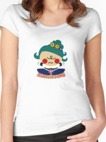 Menina 5 Women's Fitted Scoop T-Shirt