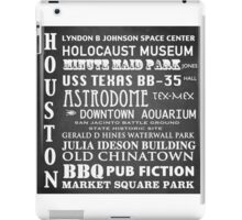 Houston Famous Landmarks iPad Case/Skin