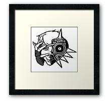Majora Mask Link Framed Print