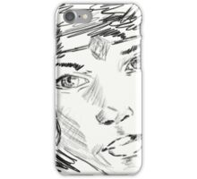 Beautiful Girl With Diadem iPhone Case/Skin