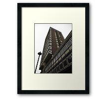 Tower block Framed Print