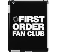 First Order Fan Club iPad Case/Skin