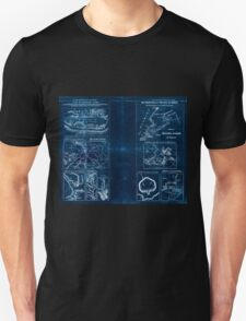 Civil War Maps 1909 War maps and diagrams 04 Inverted Unisex T-Shirt
