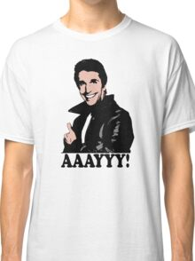 The Fonz Happy Days Aaayyy! T-Shirt Classic T-Shirt