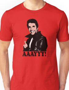 The Fonz Happy Days Aaayyy! T-Shirt Unisex T-Shirt