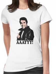 The Fonz Happy Days Aaayyy! T-Shirt Womens Fitted T-Shirt