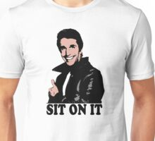 The Fonz Happy Days Sit On It T-Shirt Unisex T-Shirt