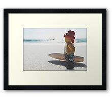 Surf's Up! Framed Print