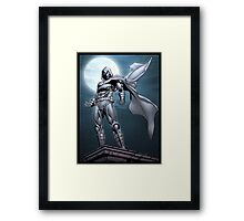 Moon Knight Framed Print