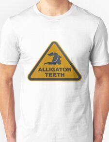 Alligator teeth sign T-Shirt