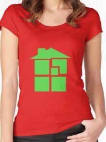 Homestuck - Sburb (Black) Women's Fitted Scoop T-Shirt