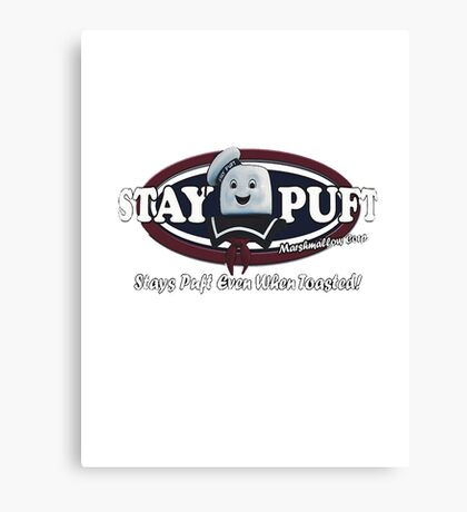 stay puft, logo, ghostbusters, movie, movie t-shirt Canvas Print