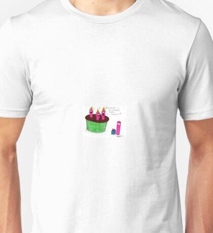 Birthday Candles Unisex T-Shirt