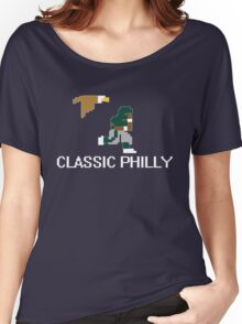 Classic Philly - 8 Bit Retro Women's Relaxed Fit T-Shirt