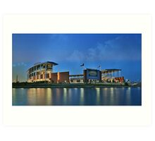 McLane Stadium at Baylor University Art Print