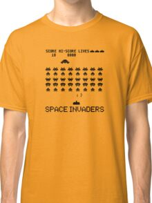 Space Invaders classic Arcade game Classic T-Shirt
