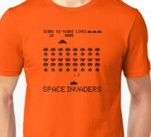 Space Invaders classic Arcade game Unisex T-Shirt