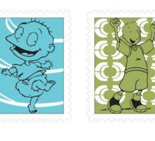 Cartoon Stamps - Nickelodeon Sticker