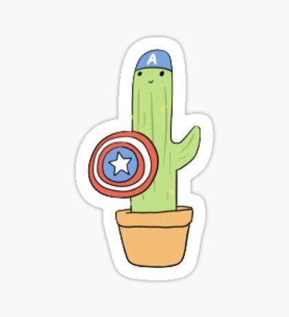 Cactus America Sticker