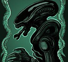 Alien by linseedling