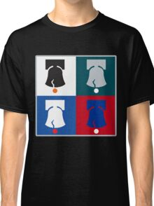 Philly Phour Bells - Liberty Bells for your Favorite Philadelphia Teams! Classic T-Shirt