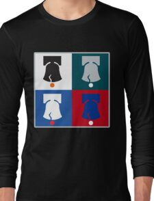 Philly Phour Bells - Liberty Bells for your Favorite Philadelphia Teams! Long Sleeve T-Shirt