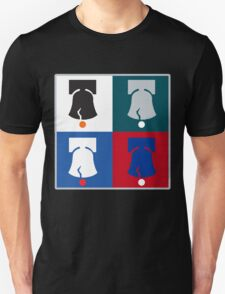 Philly Phour Bells - Liberty Bells for your Favorite Philadelphia Teams! T-Shirt