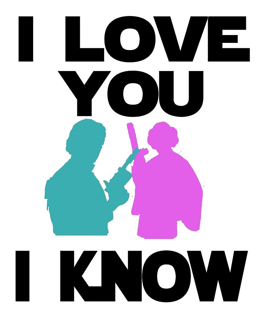 """""""Star Wars Han Solo and Princess Leia 'I love You, I Know ..."""