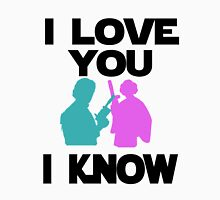 Star Wars Han Solo and Princess Leia 'I love You, I Know' design T-Shirt