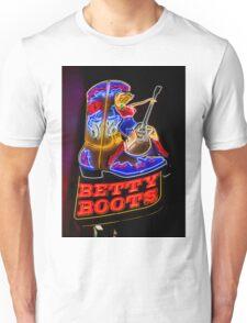 Betty Boots Unisex T-Shirt