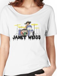 Janet weiss Drummer Amazing Women's Relaxed Fit T-Shirt