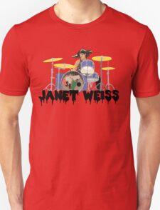 Janet weiss Drummer Amazing Unisex T-Shirt