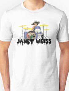 Janet weiss Drummer Amazing T-Shirt