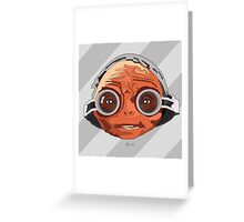 Maz Kanata Greeting Card