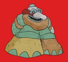 """The Rock Man"" One Piece - Short Sleeve"