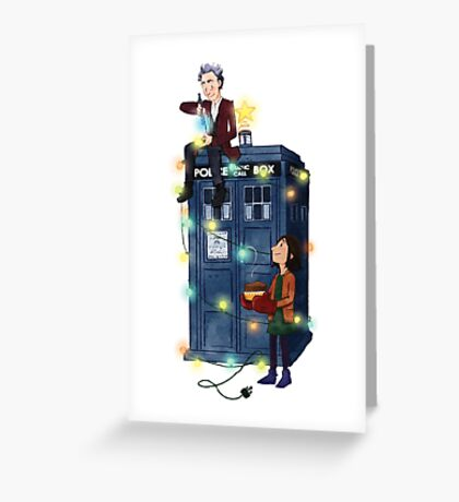 Doctor Who - It's Christmas! Greeting Card