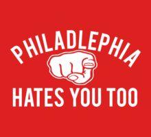 Philadelphia Hates You Too by geekingoutfitte