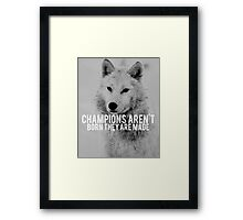 Success quotes Framed Print