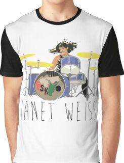 janet weiss she is amazin Graphic T-Shirt